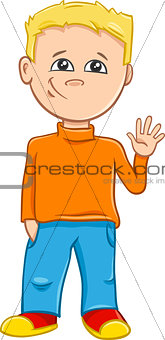 boy character cartoon illustration