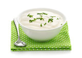 Natural sour cream