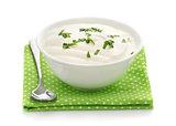 Natural sour cream