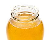 honey pot closeup