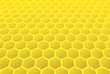 Honeycomb pattern.