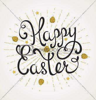 Greeting inscription for Easter