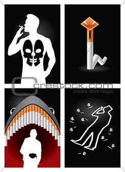 Anti-smoking posters