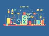 Smart city concept