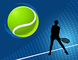 sport background  tennis