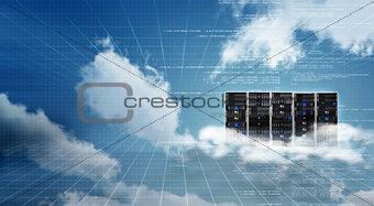 Internet Cloud server cabinet