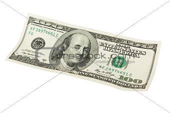 One hundred dollars.