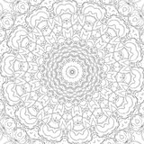 Adult colouring page design