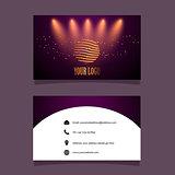 Business card mock up