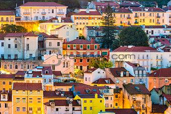 Lisbon Portugal buildings