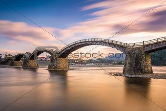 Kintaikyo Bridge in Japan