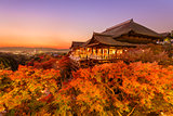 Kiyomizudera Shrine in Kyoto