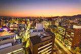 Downtown Kumamoto, Japan