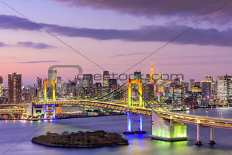 Tokyo BaySkyline