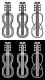 violin musical instrument vector illustration