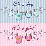 It is a boy and it is a girl announcement
