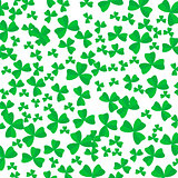 Green Cartoon Clover Leaves