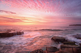 Sunrise from North Avoca Beach Australia