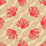Seamless patterns with corals