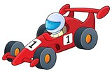 Racing car theme image 1