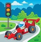 Racing car theme image 2
