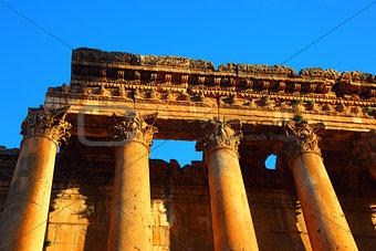 Baalbeck temple in Heliopolis