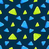 Triangle Pattern. Vector Illustration