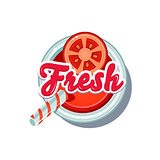 Tomato Fresh. Vector Illustration