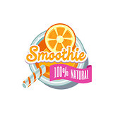 Orange Smoothie. Vector Illustration