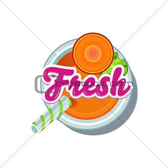 Carrot Fresh. Vector Illustration