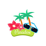 Paradise. Summer Vacation. Vector Illustration