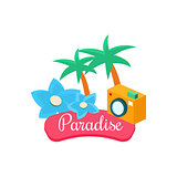 Summer Paradise. Vector Illustration