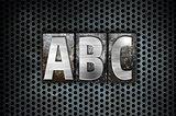 ABC Concept Metal Letterpress Type