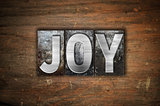 Joy Concept Metal Letterpress Type