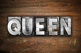 Queen Concept Metal Letterpress Type
