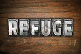 Refuge Concept Metal Letterpress Type