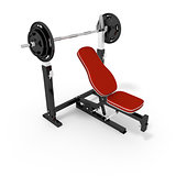 bodybuilder bench