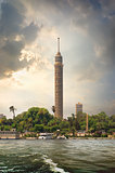 TV tower and Nile