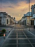 Deserted Street in Arequipa Peru