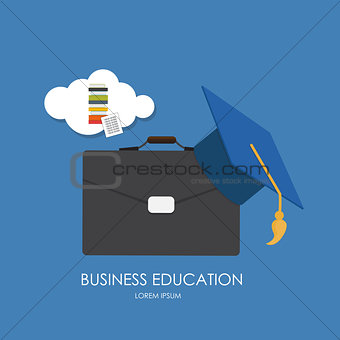 Business Education Concept. Trends and innovation in education.