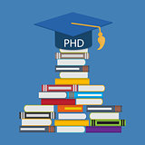 Hard and Long Way to the Doctor of Philosophy Degree PHD