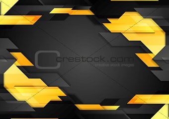 Abstract tech geometric corporate background