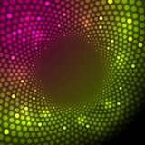 Bright shiny lights abstract vector background