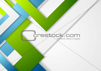 Bright geometric corporate tech background