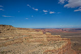 Cliffs of the Moki Dugway in Utah