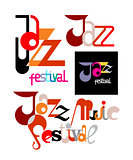 Jazz Festival Decorative Text