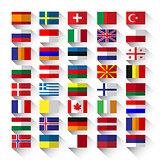 flags flat
