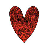 Love, valentine heart, sketch for your design