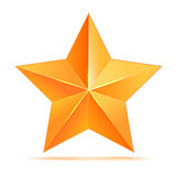 Golden 3d star premium. The best reward