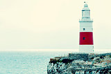 Trinity Lighthouse in Gibraltar